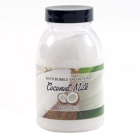 Coconut Milk Non-Foaming Bath Salts - Bath Bubble & Beyond 300g